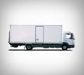 Camion Iveco 35m³ avec hayon
