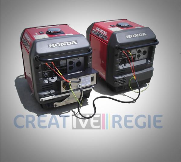 Cordon de couplage pour groupe électrogène