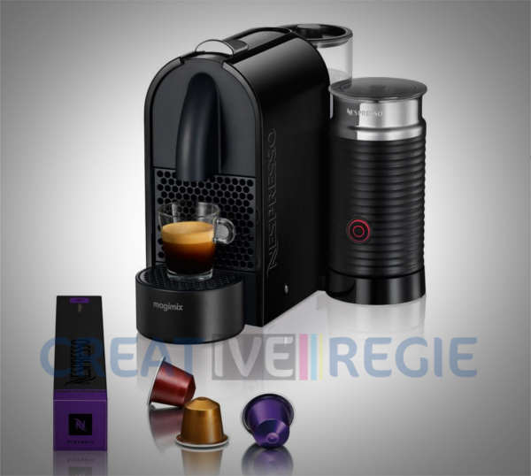 Machine caf nespresso umilk magimix cr ative r gie - Auchan machine a cafe nespresso ...
