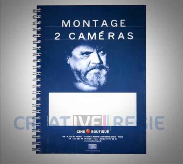 Photo de Rapport scripte / montage 2 caméras