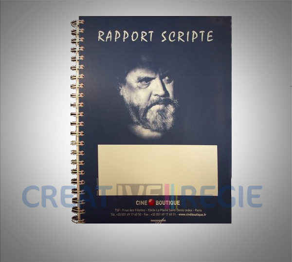 Rapport scripte / montage 100 pages 2 feuillets