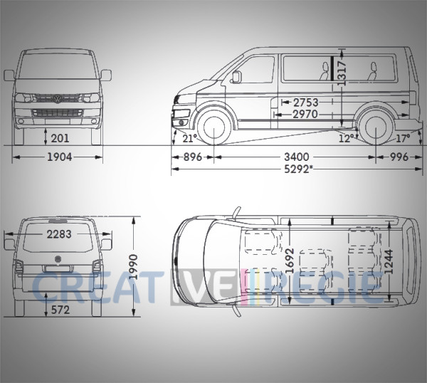 Minibus Volkswagen Caravelle Confortline rallongé DCI 150