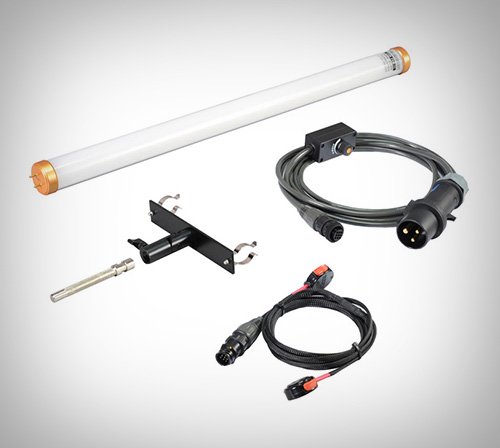 Filmgear : Led Flo-single 2 ft set