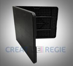 Nouveau produit Table pliable plastique noire chez Créative Régie