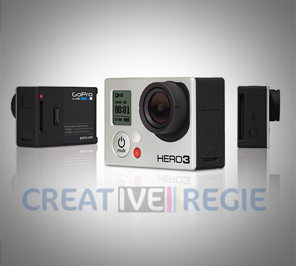 Kit HD hero3 Black